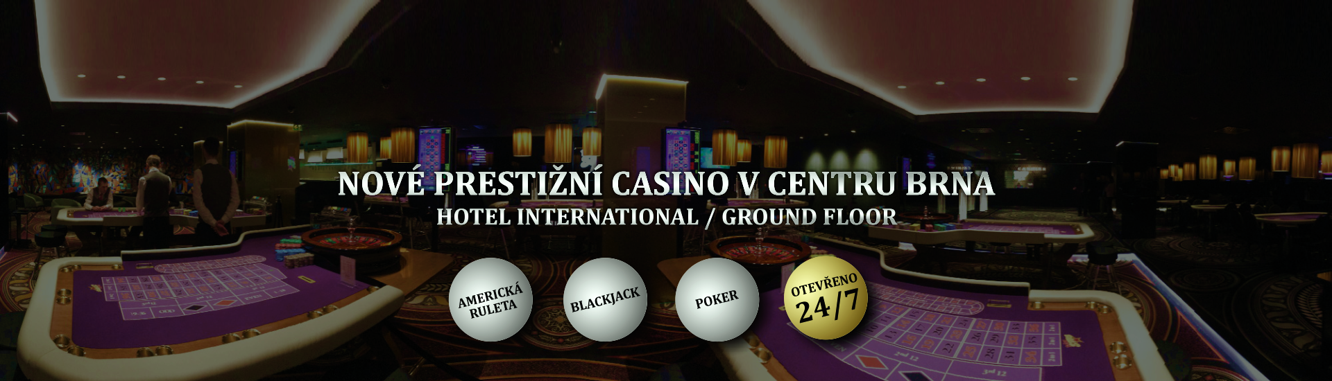 Rebuy Stars Casino Brno - Hotel International