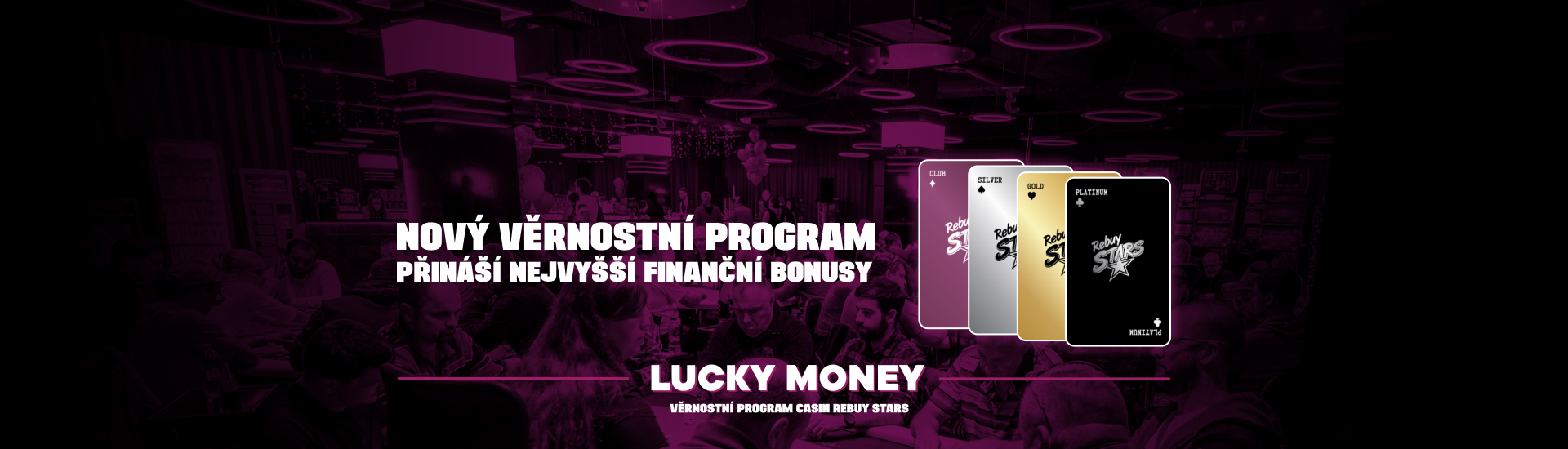 Rebuy Stars - loyalty program Lucky Money