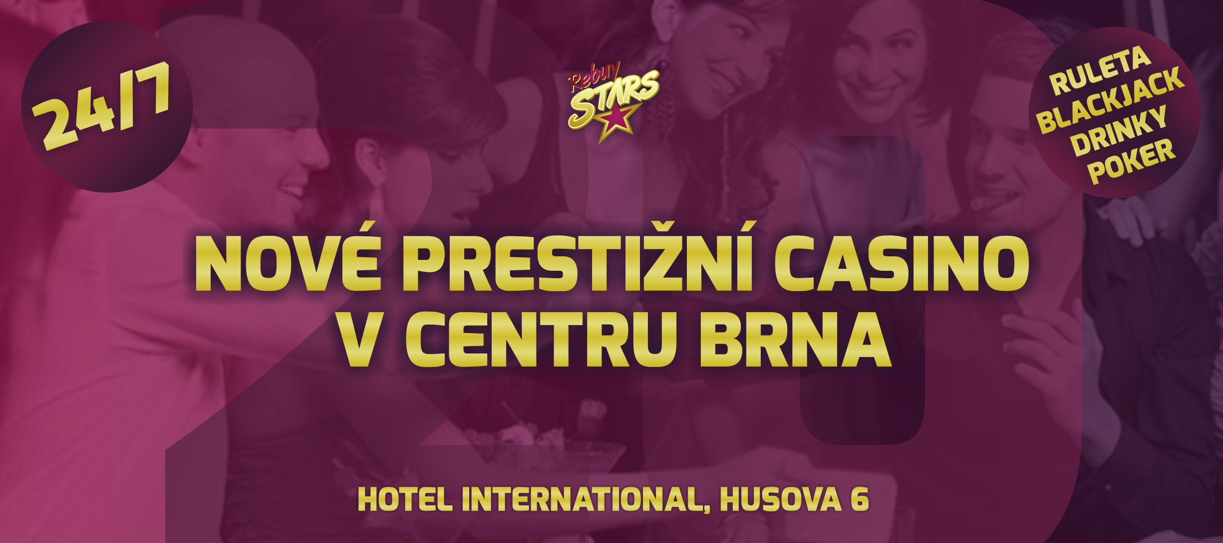 rebuy stars - casino - brno - hotel international - coming soon