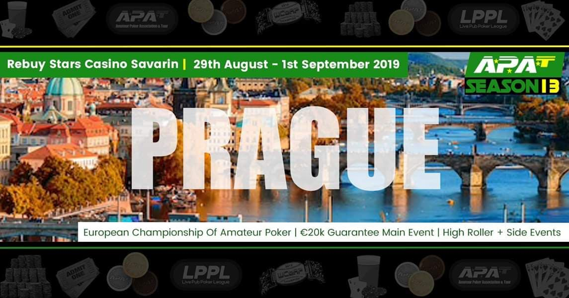 APAT - European Championship Of Amateur Poker - Casino Savarin - Prague